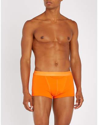 Hom Slim-fit cotton-blend boxer briefs