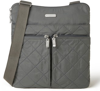 Baggallini Quilted Horizon Crossbody with RFIDWristlet