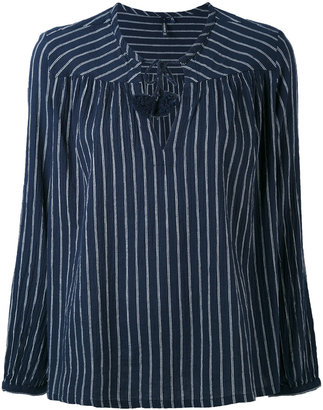 Woolrich striped blouse $89.05 thestylecure.com