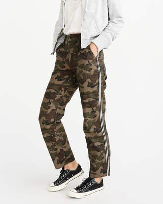 Abercrombie & Fitch Camo Side Stripe Pants