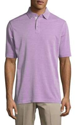 Saks Fifth Avenue Short Sleeve Polo
