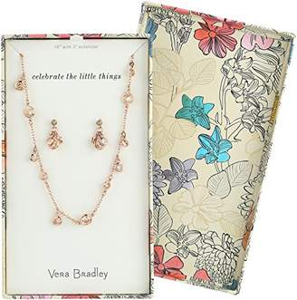 Vera Bradley Womens Holiday Sparkle Jewelry Set