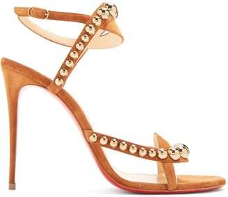 Christian Louboutin Galeria 100 stud-embellished suede sandals