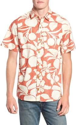 Kahala Shade Tree Classic Fit Print Sport Shirt