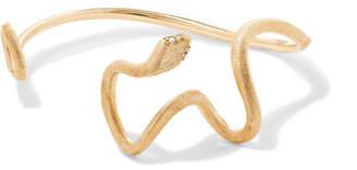 OLE LYNGGAARD COPENHAGEN - Snakes 18-karat Gold Diamond Bracelet