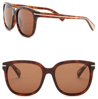 Lanvin 54mm Square Sunglasses