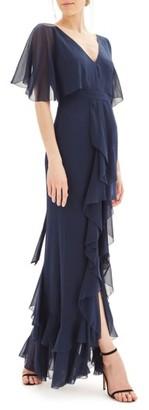 Women's Topshop Bride Cascade Gown $240 thestylecure.com
