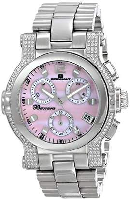 Oceanaut Women's OC0727 Baccara Analog Display Quartz Silver Watch