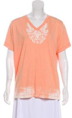 Woolrich Printed Short Sleeve T-Shirt