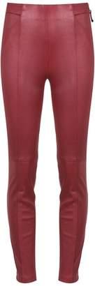Tufi Duek leather skinny trousers