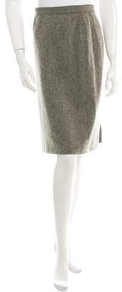 Calvin Klein Collection Wool Skirt