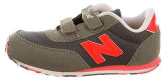 New Balance Boys' Suede Low Top Sneakers