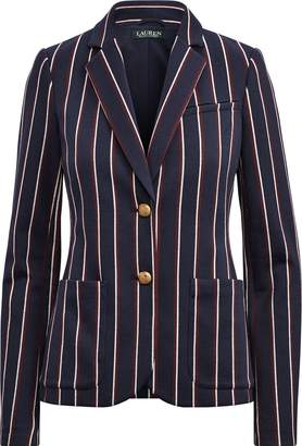 Ralph Lauren Striped Jacquard Blazer