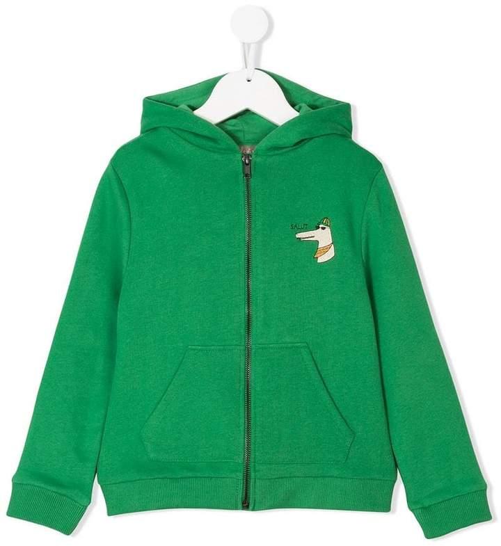 salut logo hoodie