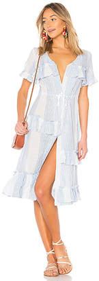 Lemlem Issa Tiered Dress