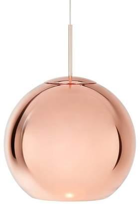 Tom Dixon Round Copper Pendant Light
