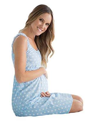 63e6927d64c79 Baby Be Mine Maternity Nursing Nightgown - Sleeveless ( pre pregnancy 8-10,  )