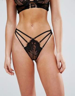 Glamorous Lace Strappy Thong