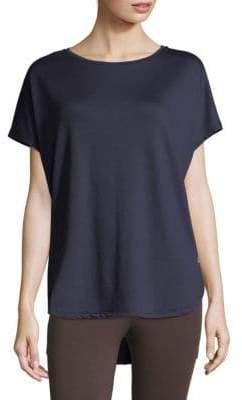Natori Zen Terry Short Sleeve Top