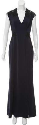 Reiss Embellished Evening Dress