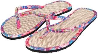 1eb8c0f9e47a2e Next Womens Accessorize Tropical Seagrass Flip Flop