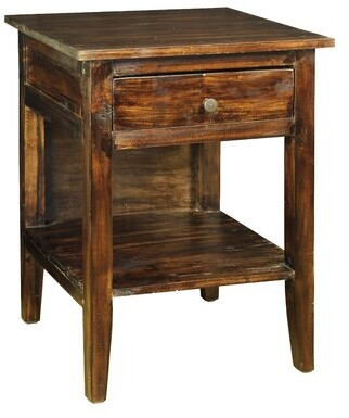 Loon Peak Isadora 1 Drawer Nightstand Loon Peak