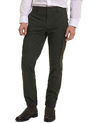 Robert Graham Men's Colvin Tailored Fit Woven Pant