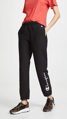 Champion Premium Reverse Weave Terry Cuff Sweatpants