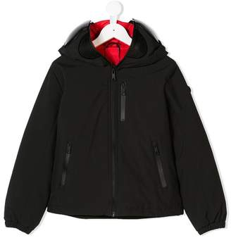 AI Riders On The Storm Kids mask hood zip jacket