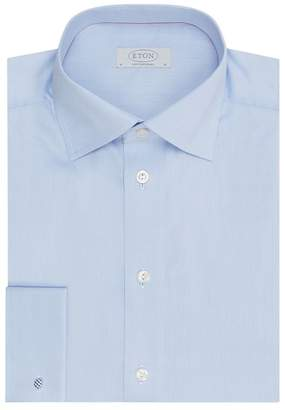 Eton Contemporary Fit Cotton Twill Shirt