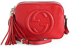 Gucci Women's Soho Leather Tassel Camera Bag