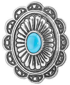 American West Treasures Turquoise Magnetic Concha Insert