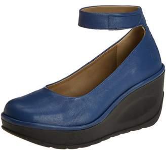 Fly London Womens Jynx 877 Leather Shoes 39 EU