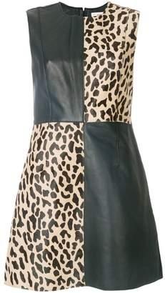 Diane von Furstenberg block print shift dress