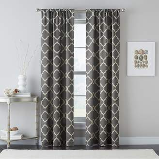 CHF 1-Panel Powersave Casbah Trellis Energy Window Curtain