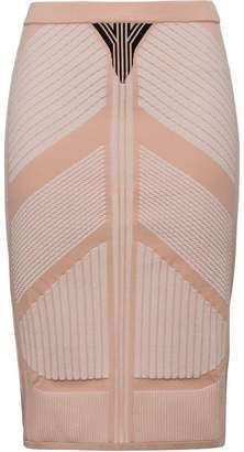 Prada pencil knitted skirt