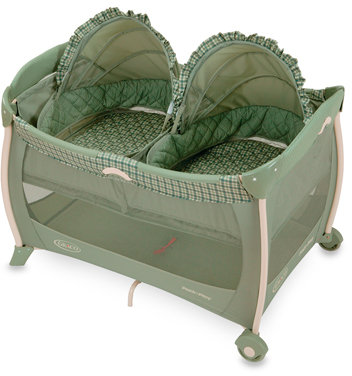 Graco® Pack 'n Play® Portable Playard with Twin Bassinets in Scout™