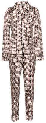 Prada Printed Silk Pajamas