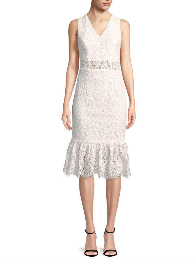 Alexia Admor Women's Lace Midi Dress