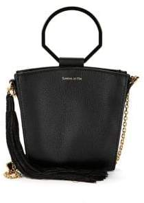 Louise et Cie Joni Ring-Handle Leather Crossbody