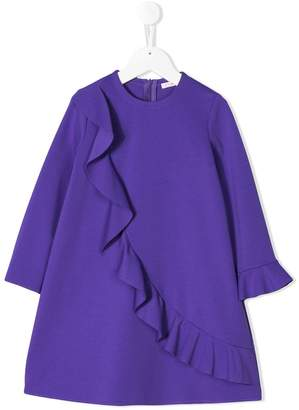Il Gufo ruffle detail dress