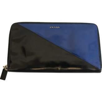 Prada Black Patent leather Wallets
