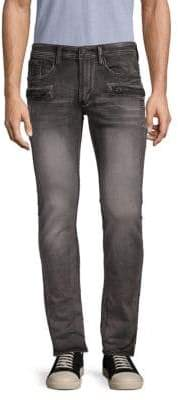 Buffalo David Bitton Faded Slim-Fit Jeans