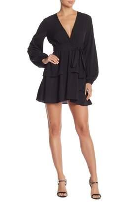 Do & Be Do + Be Tie Waist Tiered Skirt Dress