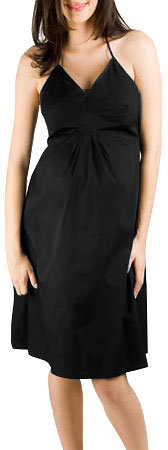 cadeau Stretch Poplin Halter Dress