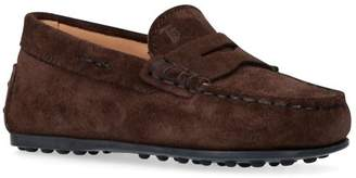 Tod's Suede Gommino Nuovo Driving Shoes