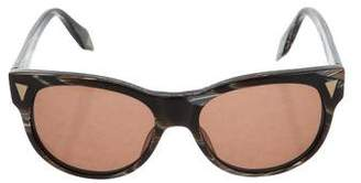 Victoria Beckham Round Tinted Sunglasses