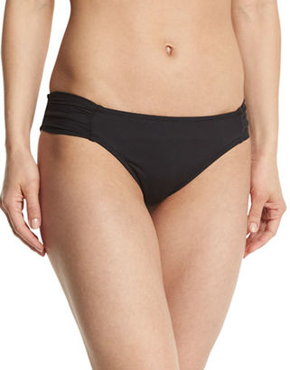 Trina Turk Algiers Shirred-Side Hipster Swim Bottom $56 thestylecure.com