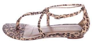 Loeffler Randall Leather Thong Sandals
