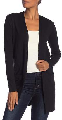 Susina Open Front Cardigan